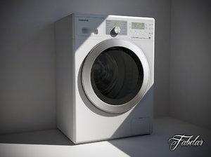 samsung washing machine 3d model