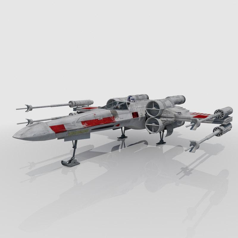 3d fighter luke skywalker