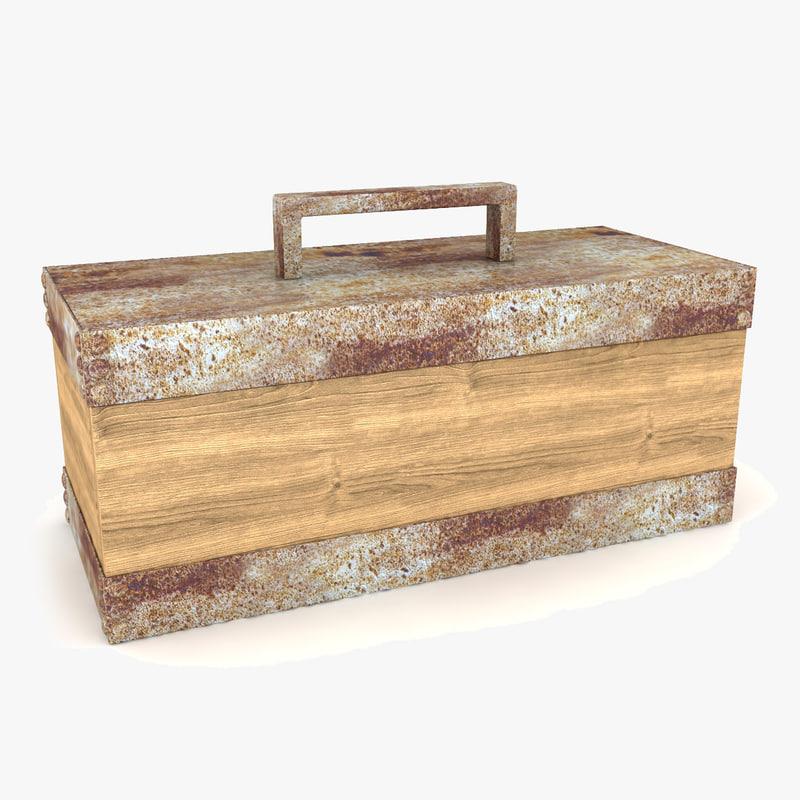3d model accent box
