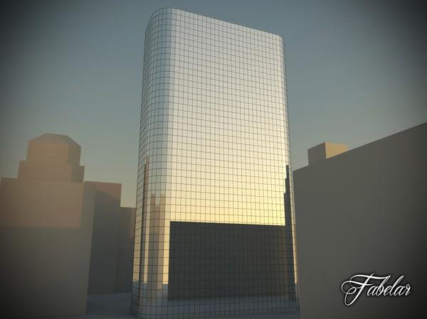 skyscraper modular mentalray 3ds
