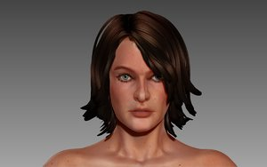 3ds max mj female character