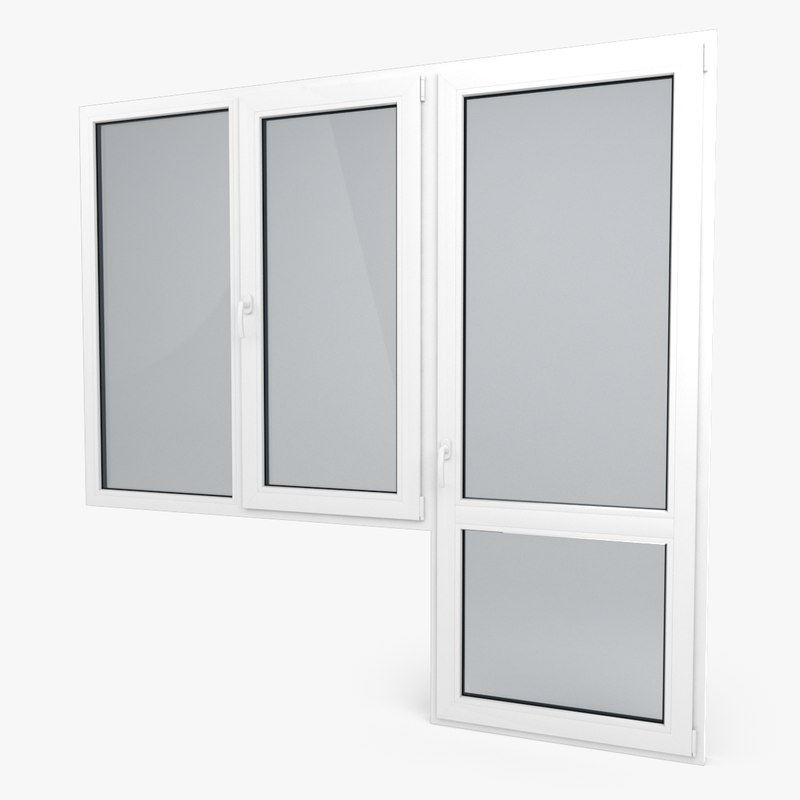 max modern pvc door window