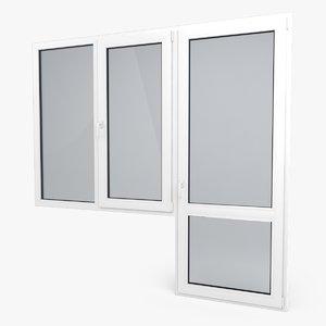 max modern pvc door window
