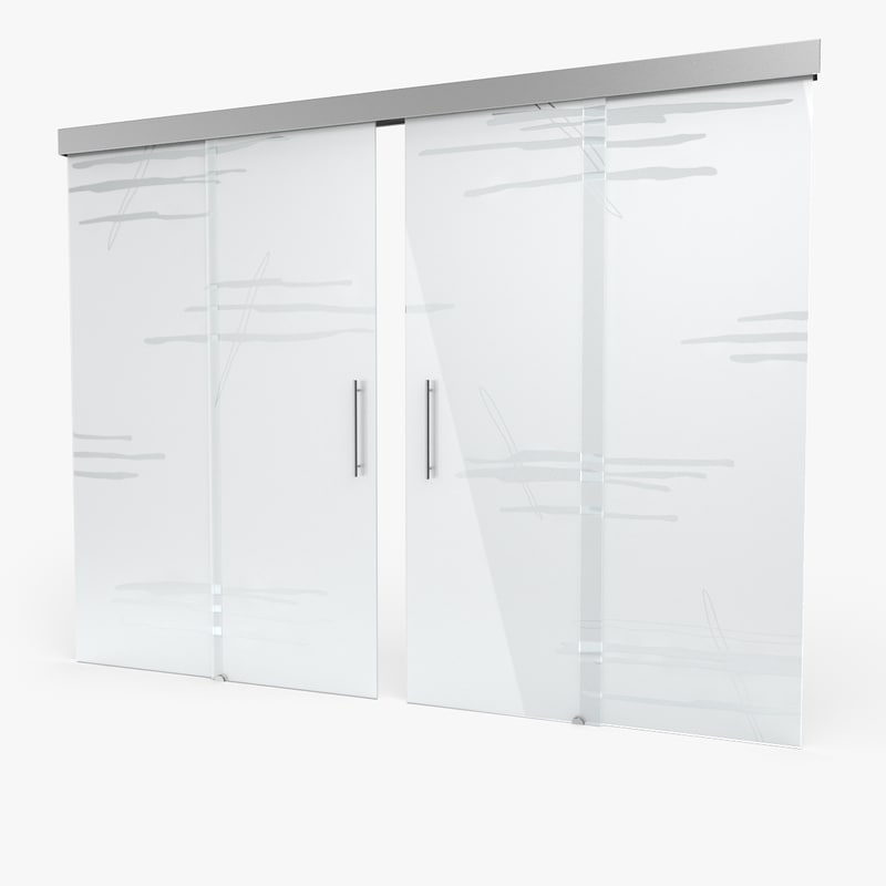 3d glass door 8