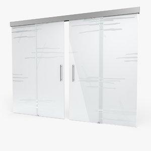 3d glass door 8