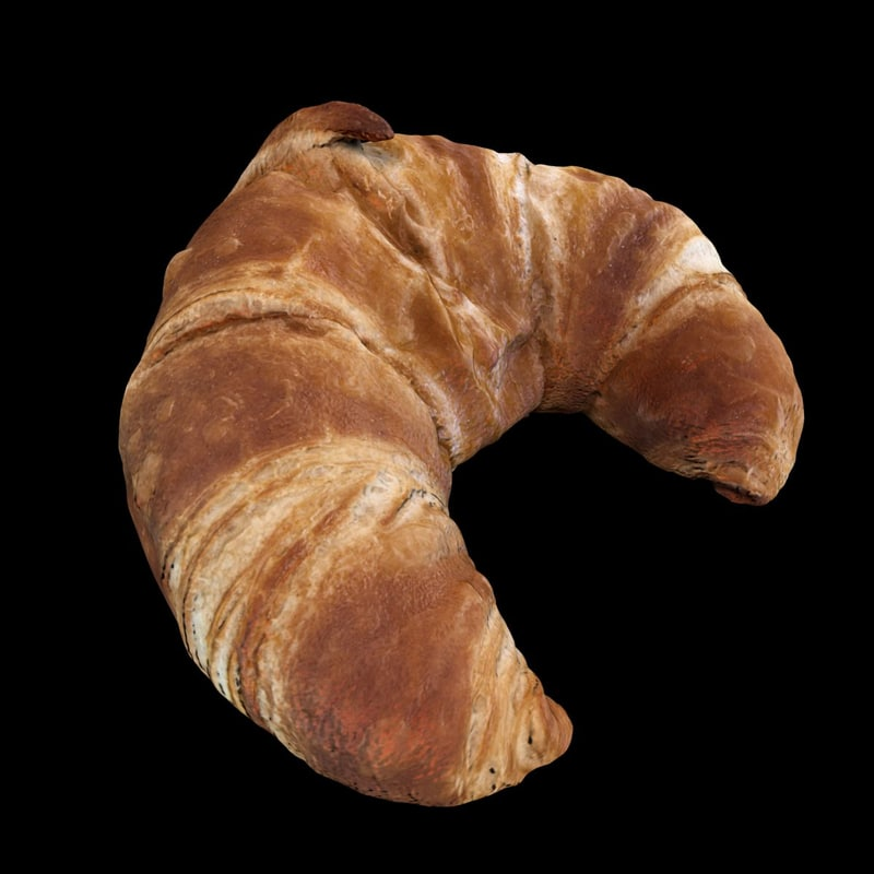 c4d croissant scan baked