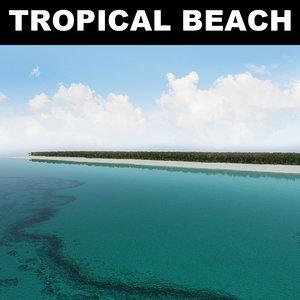 tropical beach max
