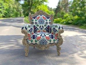 vintage armchair 3d model