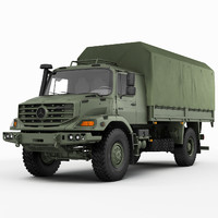 Mercedes Zetros Military 4X4