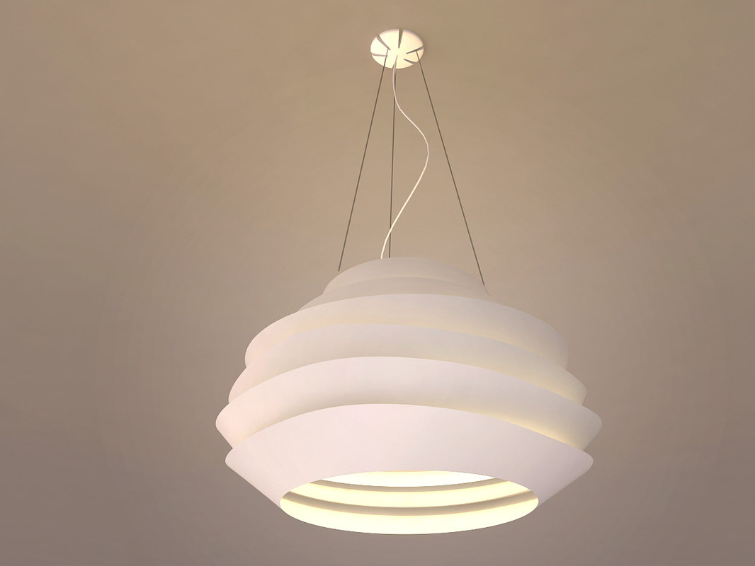 pendant lamp - le 3d model