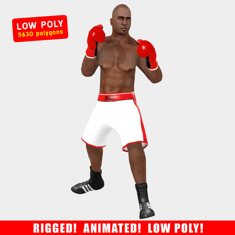 3d model ged boxer