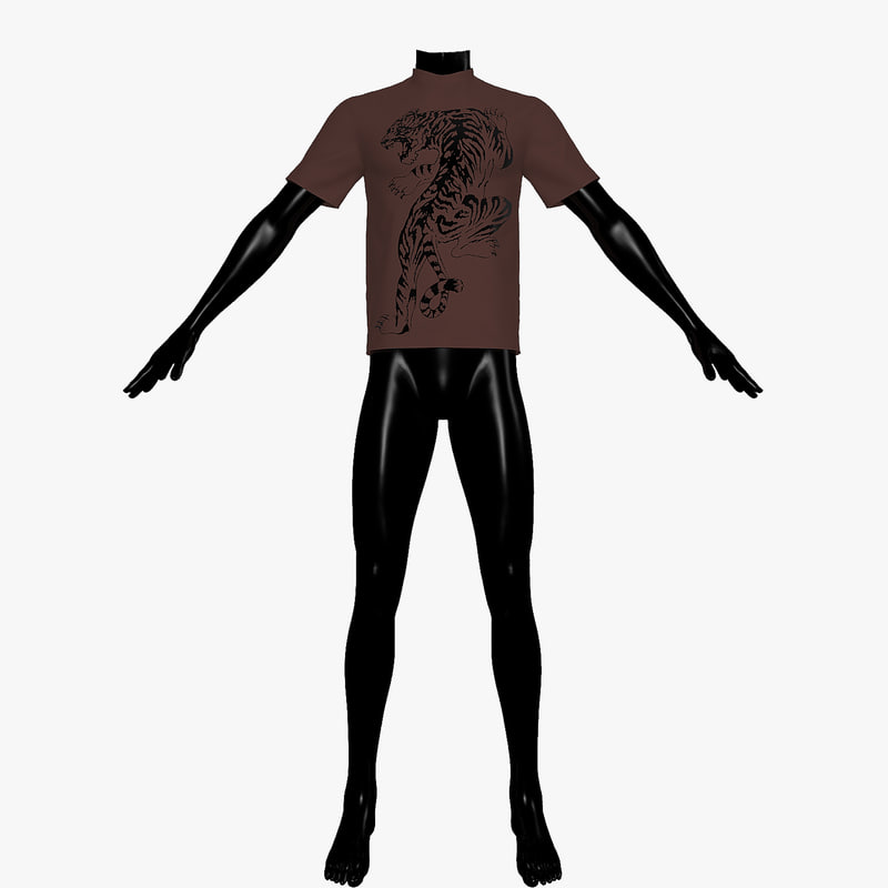 3d t-shirt mannequin