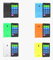 nokia xl colors obj