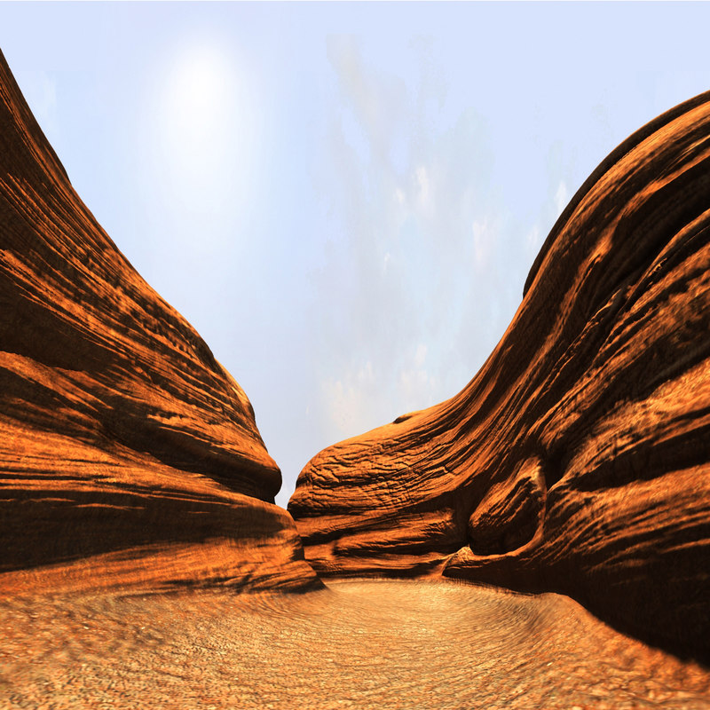 3d canyon models | turbosquid
