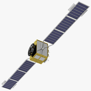 3d communications satellite eks