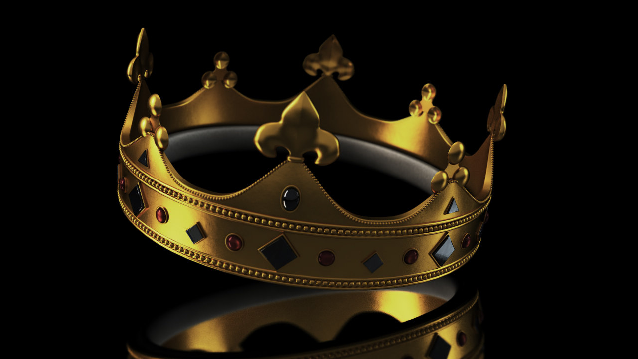 3d model crown jewels
