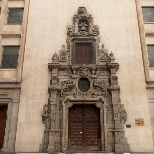 3d model of madrid scanned building portal