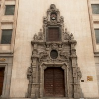 3d model of madrid scanned building portal