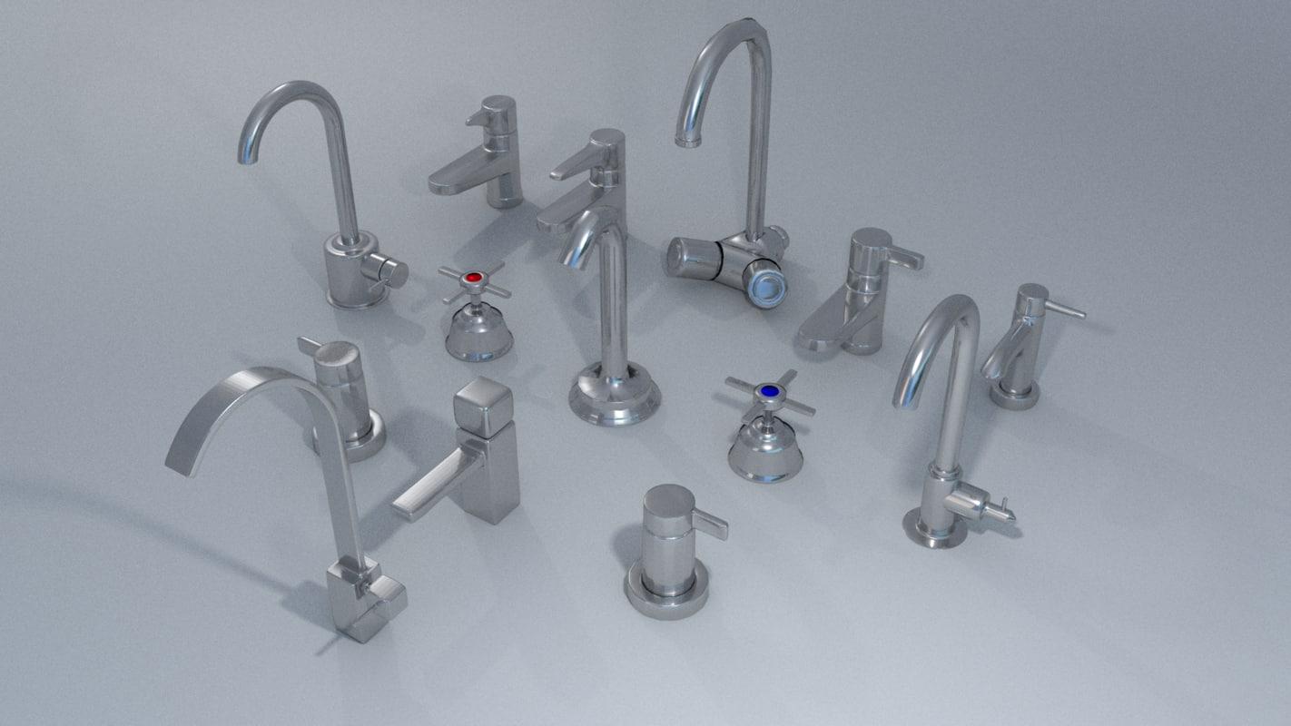 3d kit faucet