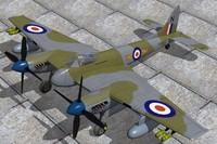 De Haviland Hornet F3