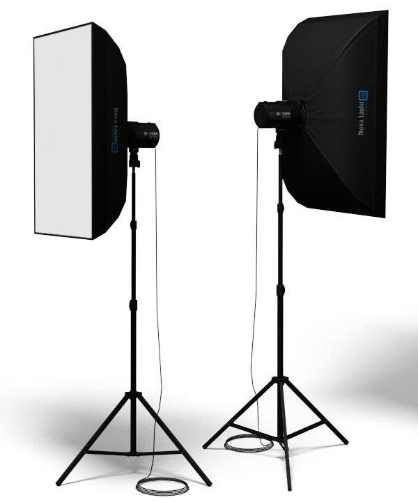 light kit 3d model