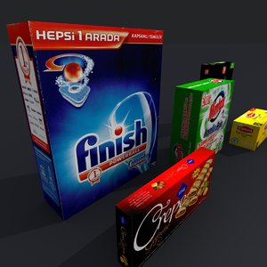 products 3d model