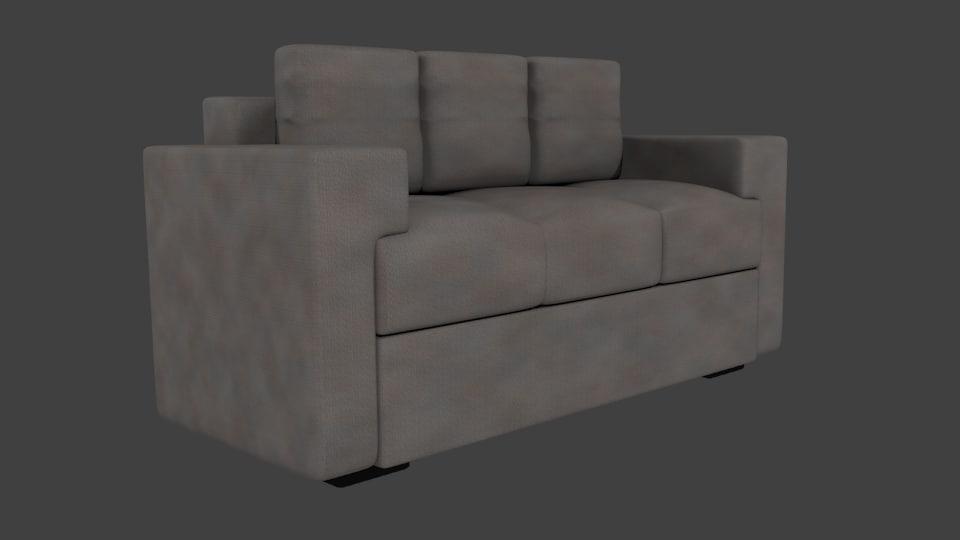 3d sofa lobby
