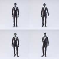 3d showroom mannequin male 04 model