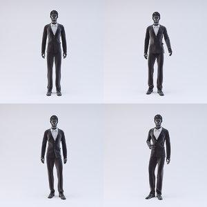 3d showroom mannequin male 04 model