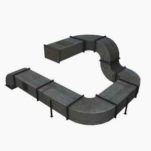max modular ventilation duct