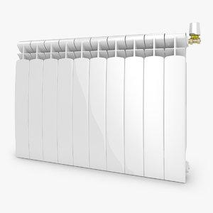 3ds max modern radiator 2