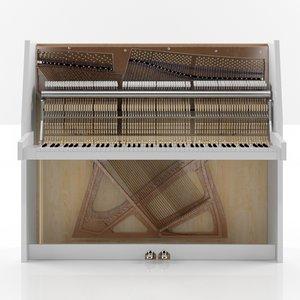 piano filling max