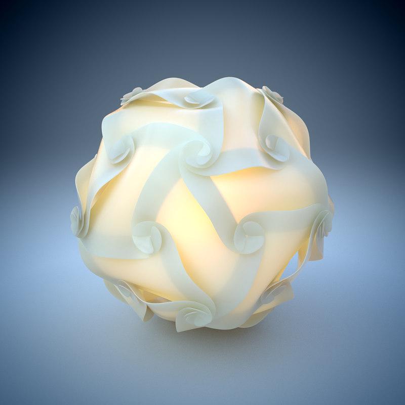 light holger strøm 3d model