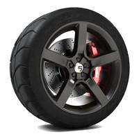 3d model axis r5f wheel