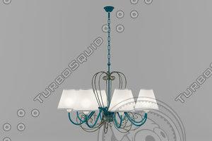 3d n b light lamp