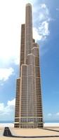 skyscraper 1 obj