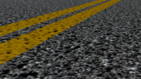 3d asphalt road model
