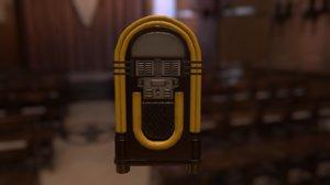 ready jukebox 3d model