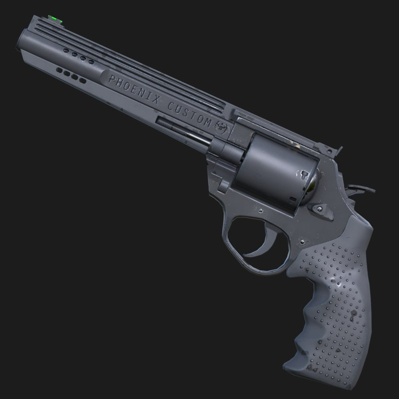 3d phoenix revolver