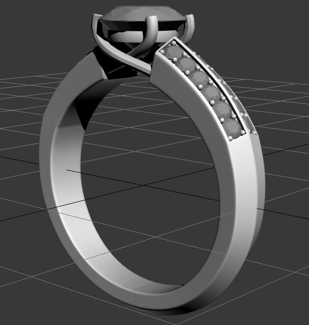3d model ring 5