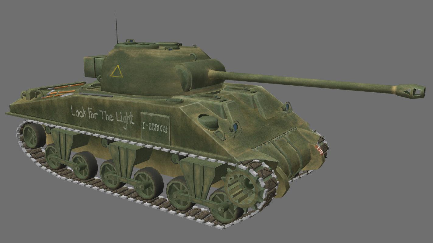 WW2 British Sherman Firefly