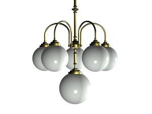 max chandelier opal glass