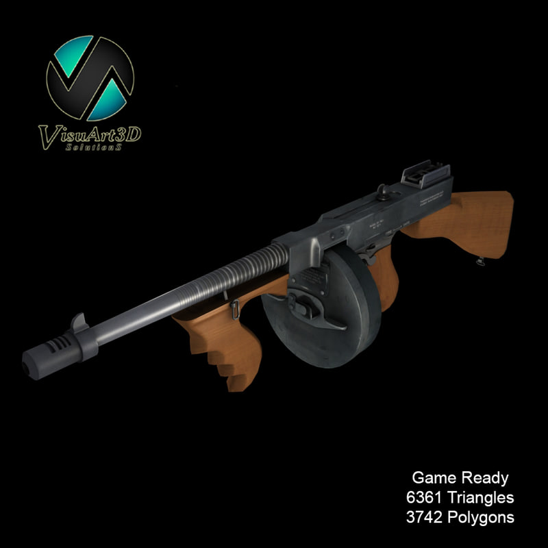 max ready tommy gun