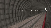 obj subway tunnel