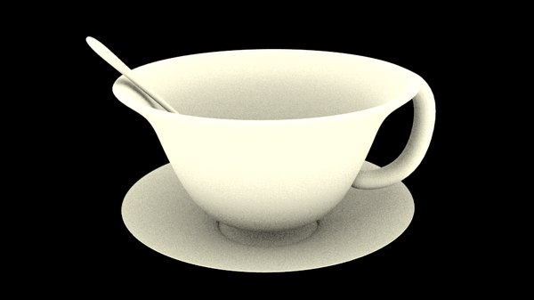 simple cup spoon 3ds