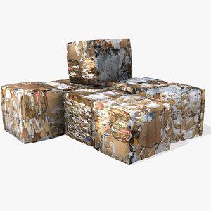 cardboard bales max