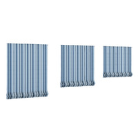 striped roman blinds c4d