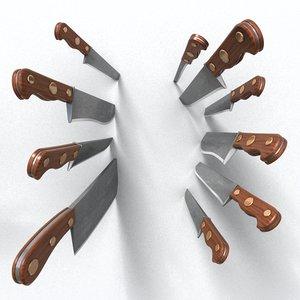 maya kitchen knife
