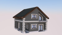 modern house 3ds free