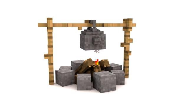 c4d bonfire kettle